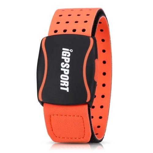 Esportes Heart Rate Sensor Sensível Freqüência Cardíaca Braço Strap Recarregável Leve Coração Rater Monitor de Corrida de Ciclismo Esportes Rastreador de Fitness Faixa de Freqüência Cardíaca