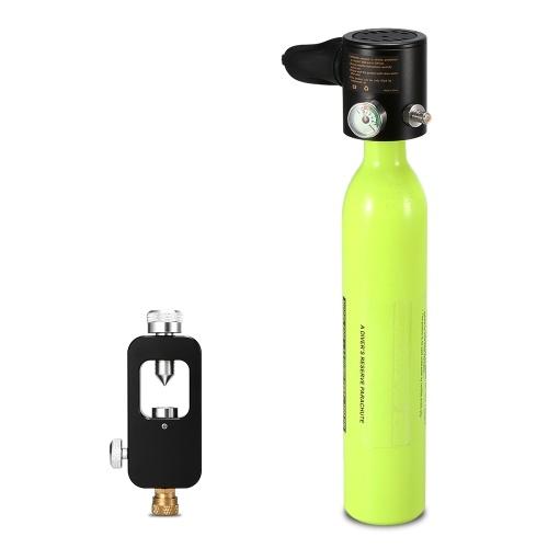 Atemschutzmaske für 0,5-l-Tauchsauerstoffbehälter