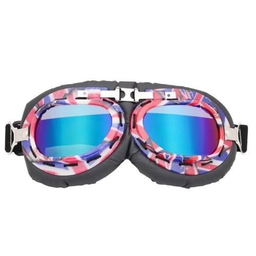Retro Motorradschutzbrillen