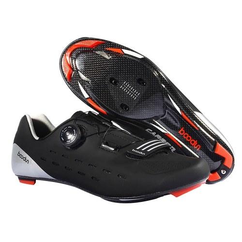 Sapato de ciclismo de estrada Sapatos de equitação de bicicleta de estrada de fibra de carbono ultraleve