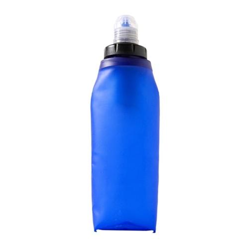 Faltbare flexible weiche Flasche Wasserfilterbeutel Blase Wasserfilter Flasche mit Karabiner für Outdoor Notüberlebens Camping Wandern