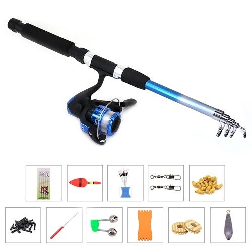 Fishing Reel Rod Combo Set