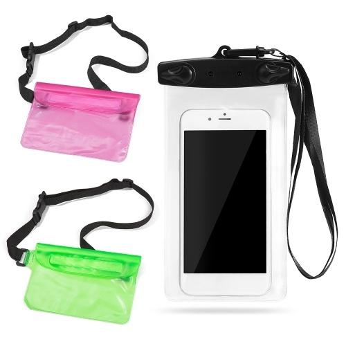 Waterproof Pouch Phone Case Set