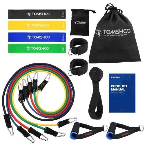 Conjunto de bandas de resistência TOMSHOO 17pcs