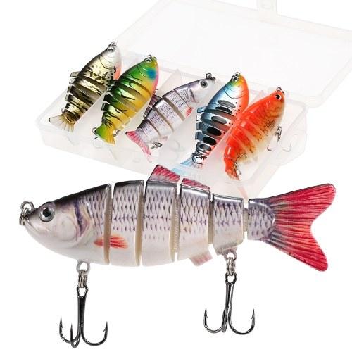 5pcs señuelos de pesca conjunto