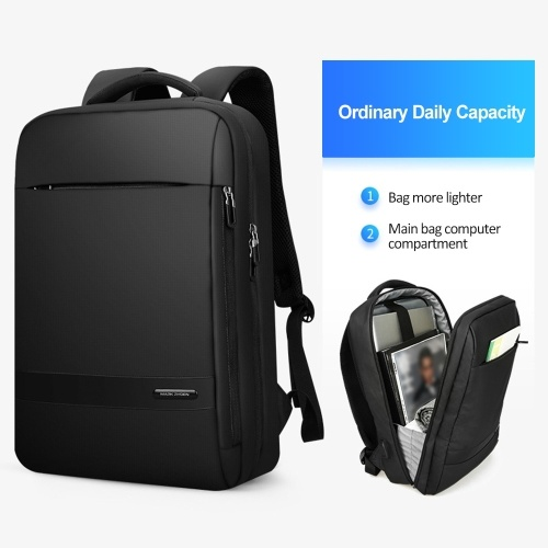 Multi-Function Business Backpack With USB Charge Port