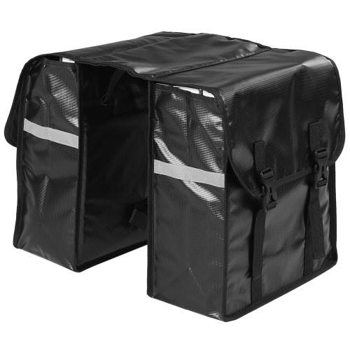 28L Bike Panniers Bag Water Resistant Rear Bicycle Bag