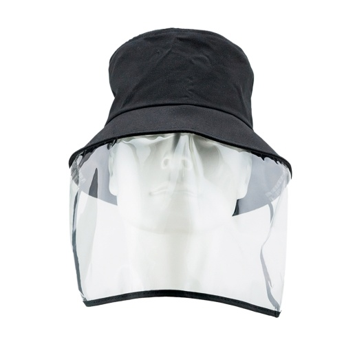 Anti-droplets Hat Full Face Mask Protective Cap Detachable Design Reusable Outdoor Face Protector for Men Women