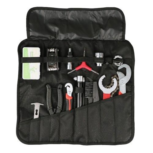 Bolsa de herramientas de reparación de bicicletas portátiles