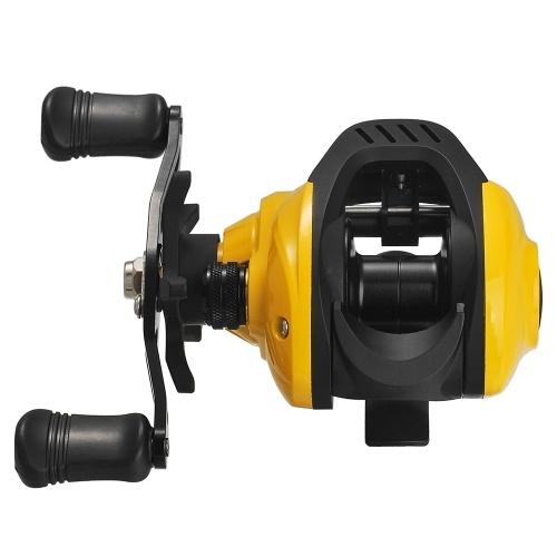 Lightweight High Speed 7.2:1 Gear Ratio Baitcast Fishing Reel