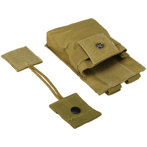 Portable Radio Pouch Interphone Case Multi-functional Handheld Radio Holder Walkie Talkie Molle Pouch Duty Belt Attachment