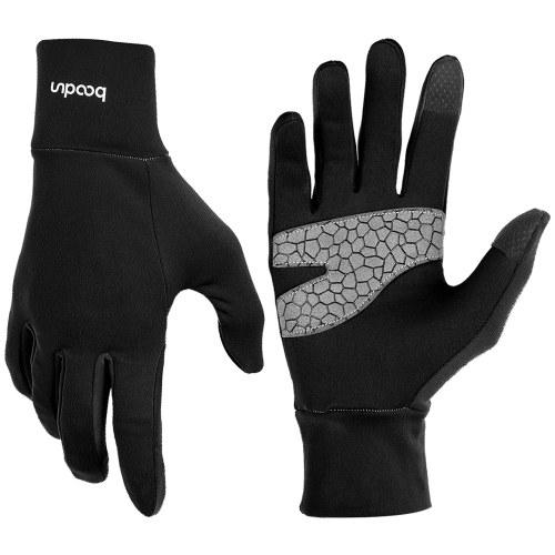 Теплые сенсорные перчатки для наружного освещения