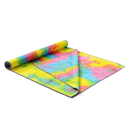 Yoga Mat  Tie-Dye Print Thick Non-Slip Gym
