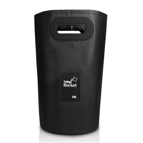 15L balde dobrável bolsa impermeável ao ar livre saco seco