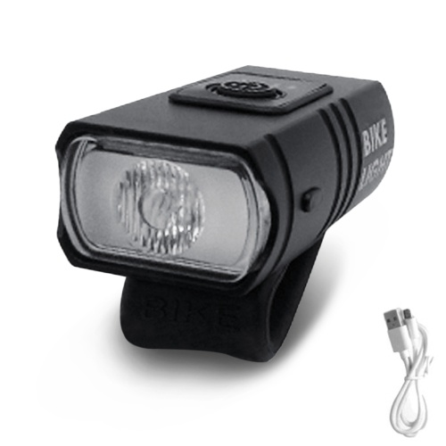 T6 LED Bicycle Light USB Rechargeable Power Display Mountain Road Bike Front Lamp USB Rechargeable Waterproof Cycling Headlight Cycling Equipment