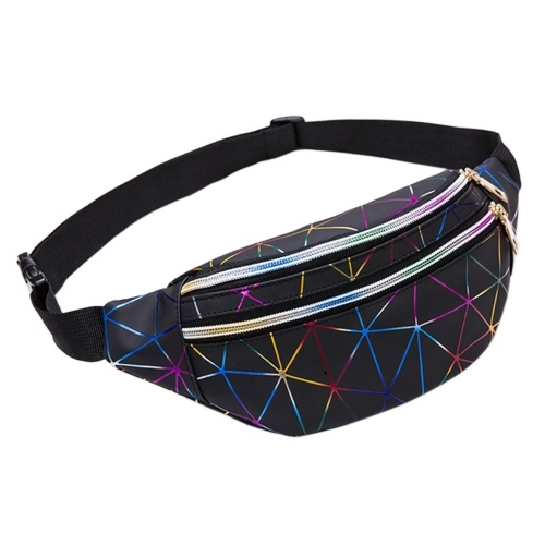 New Style Multicolor Sport Multilayer Outdoor PU Waist Pack Fashion Men And Women Chest Pack