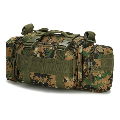Camera Bag Camouflage Wear-Proof Multi-Purpose Pockets Running Cycling Hiking Outdoor Waist Bag