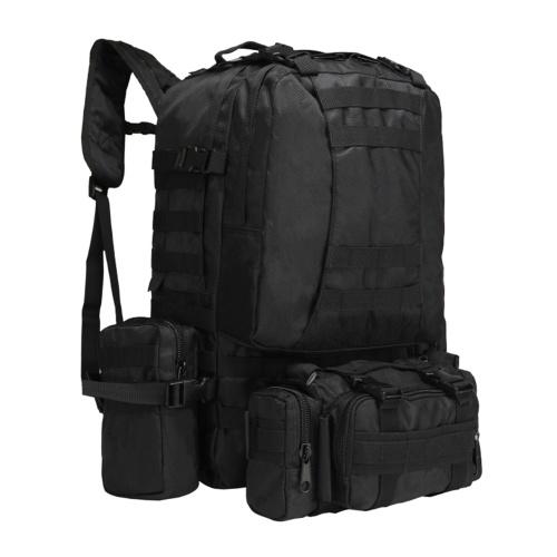 Мужской женский спортивный рюкзак 4-в-1, многофункциональная водонепроницаемая сумка большой емкости для кемпинга, походов на открытом воздухе, рюкзаки