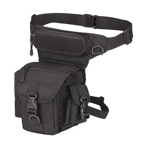 Drop Leg Bag Waterproof Thigh Waist Packs Pouch for Traveling Hiking Cycling Camping