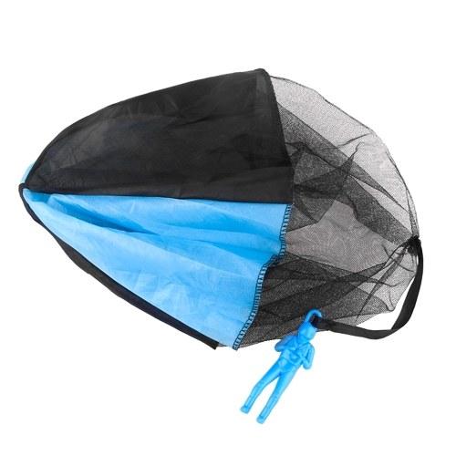 6 PCS Parachute Toys Tangle Freiwurfspielzeug Flying Parachute Toys im Freien