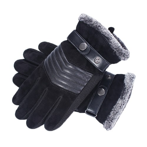 Winter Warm Gloves Windproof Fleece Touchscreen Sports Cycling Skiing Outdoor Work Gloves