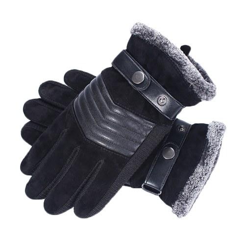 Winterwarme Handschuhe Winddichte Fleece Touchscreen Sport Radfahren Skifahren Outdoor Arbeitshandschuhe