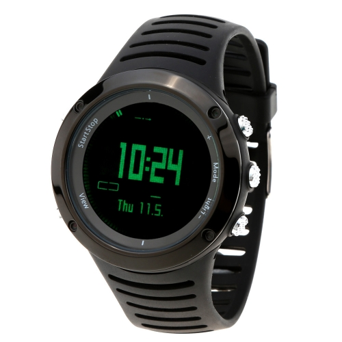 Spovan Outdoor Multifunctional Sports Digital Wristwatch with Compass Altimeter Barometer Thermometer