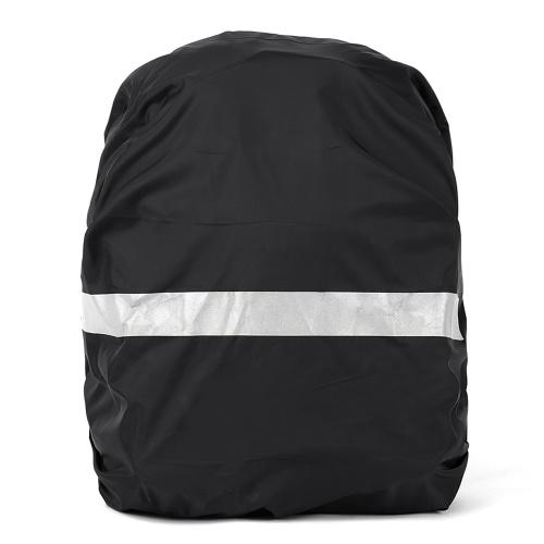 Reflective Bag Cover Wasserdichter Rucksack Rain Cover Ultraleichter Travel Pack Cover mit reflektierendem Streifen zum Wandern Radfahren Reisen