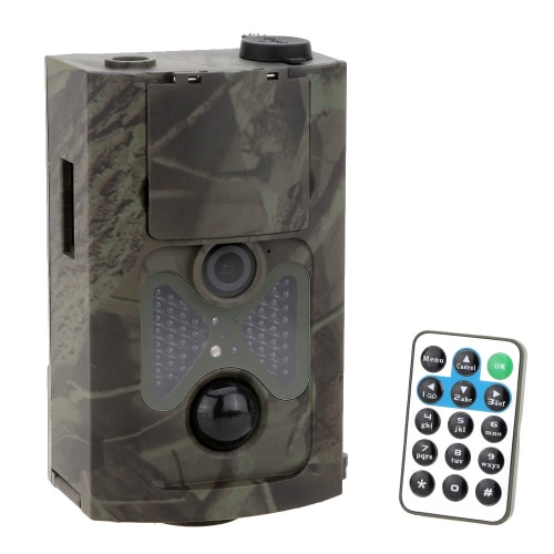 Lixada 120° Wide Lens Portable Wildlife Investigation Camera 12MP HD Digital Infrared Scouting Trail Camera 940NM IR LED Night Vision 1080P Video Recorder