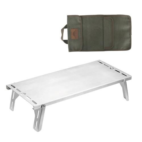 Mesa de fogão dobrável para camping portátil suporte para suporte de suporte para pesca caminhada piquenique