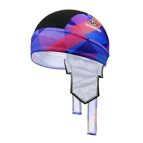 Proteção UV Lenço na cabeça para ciclismo Suor lenço para bicicleta elástico fita para a cabeça de secagem rápida e respirável Capacetes para a cabeça envoltório capuz interno