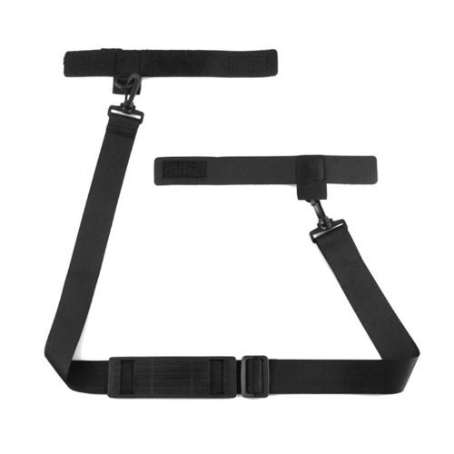Fishing Rod Shoulder Strap Belt Lightweight Adjustable Travel Fishing Rod Pole Carry Strap Band Image