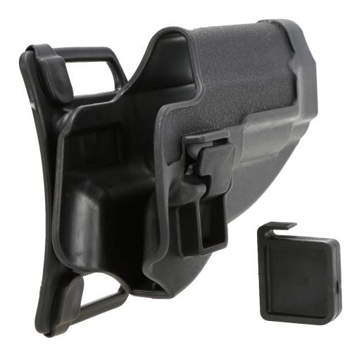 Ocultamiento de combate funda caza tiro funda pistolera plástica ligera diestros M92 / P226 / USP / G17 / 1911