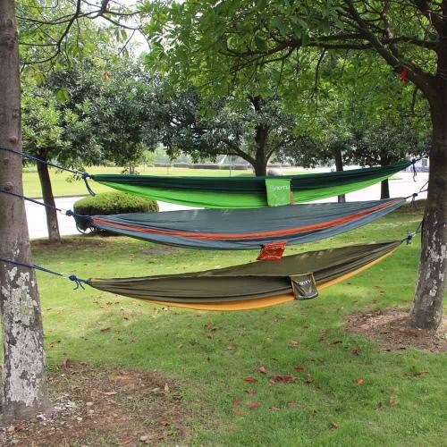 2 persone sistemazione Travel Leisure amaca Camping all'aperto