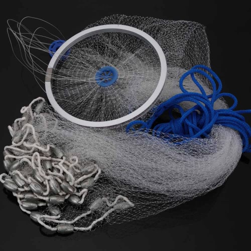 3.2 * 1,2 m Nylon Monofilament Fisch Gill Net für Hand-Guß