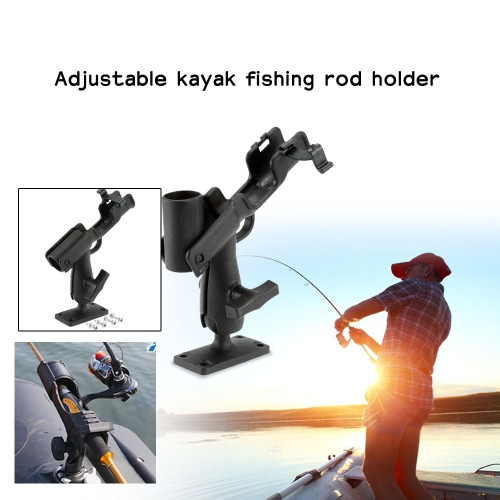 360 градусов регулируемый каяк удочку держатель 3,2 см диаметр стержня держатель для лодки каяк