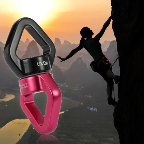 Lixada 30 kN corda girevole connettore cuscinetto sigillato Rescue Climbing