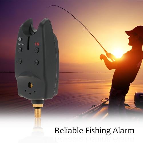 Профессиональный Карп Рыбалка Укус сигнализации светодиодный индикатор звукового оповещения на удочки рыболовные снасти Шестерня