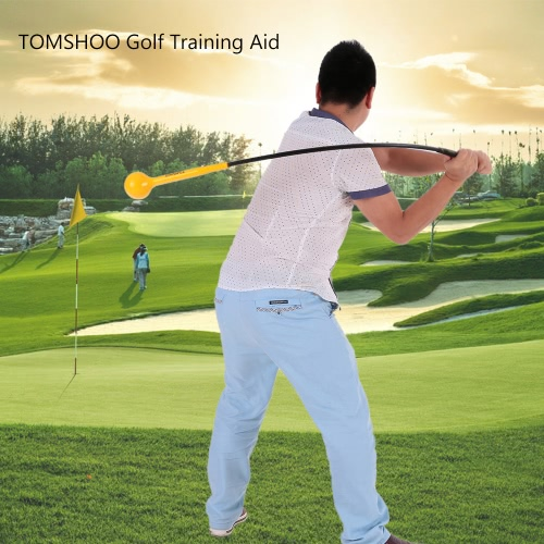 TOMSHOO Golf Training Aid per resistenza e Tempo Formazione / Golf Swing Trainer