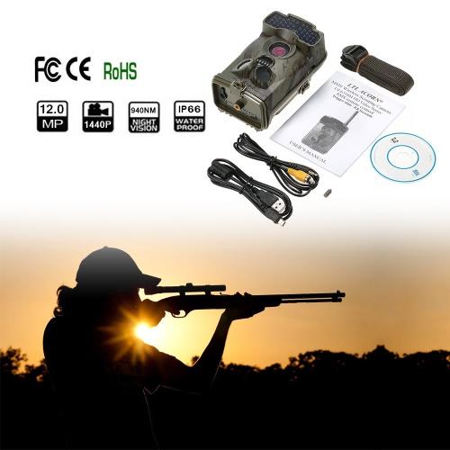 LTL Acorn 6310WMC 100 ° широкоугольный объектив Trail игры Скаутинг живой природы Охота 12MP 1440P HD Digital 940nm камеры IR LED Video Recorder дождь доказательство