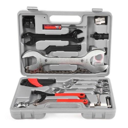 Lixada Professional Универсальный Главная Открытый Многофункциональный Назначение велосипед Repair Tool Kit Установить