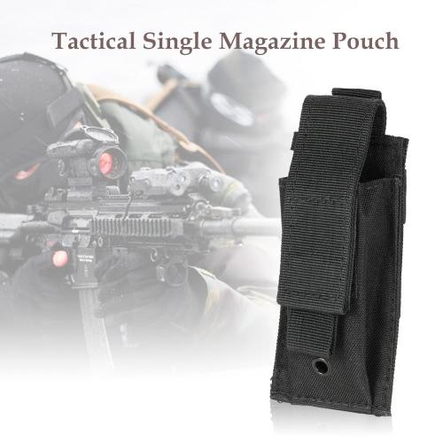 Tactical singolo Magazine Pouch pistola fucile Attrezzature per attività all'aperto Accessary Pouch tessuto di Oxford