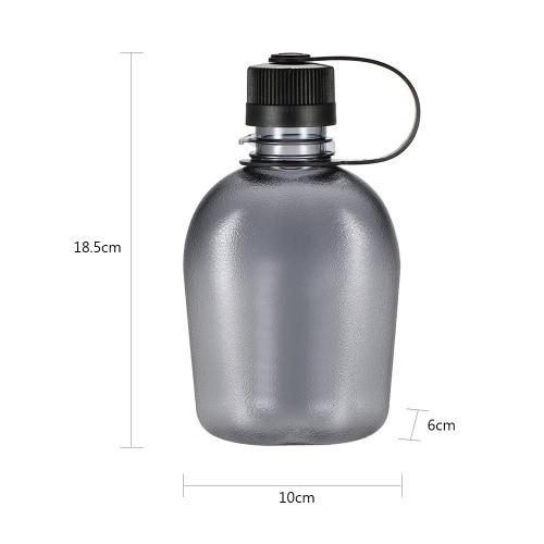 500ml / 750ml / 1000ml Tactical Wasserflasche mit Griff Trinkbehälter Militär leichte, tragbare für Outdoor-Freizeit