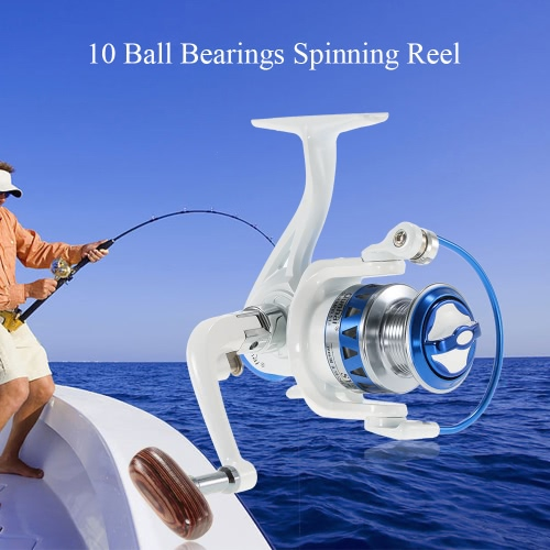 12BB шарикоподшипники Рыбалка Reel Spinning Reel рыболовные снасти Левый / правый Сменная Складная рукоятка