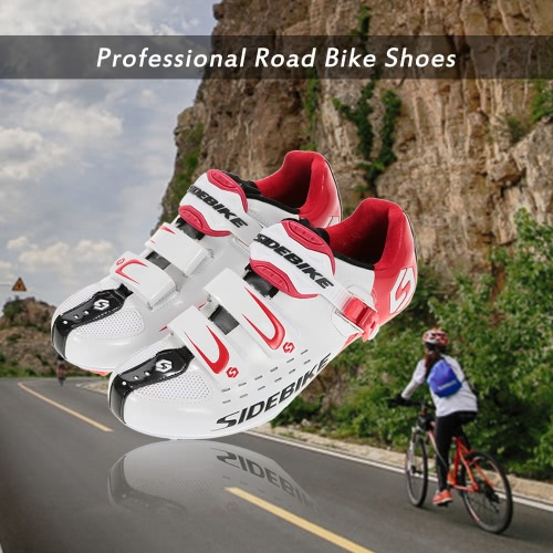 Men's Road Bike Shoes Professional Racing Cycling Shoes