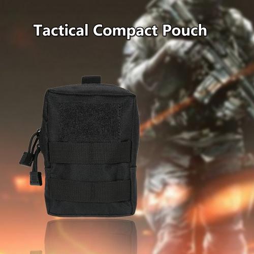 Tactical Pouch esterna militare compatto multifunzione Gadget Carrier Pouch Bag supporto dell'acqua Resistente telefono cellulare Accessary Pouch