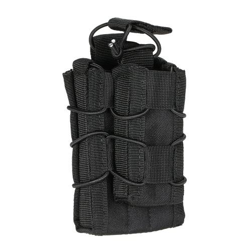 Tactical Doppel Magazine Magazintasche Outdoor-Militärgang Jagdtasche Zubehörtasche Utility Tool