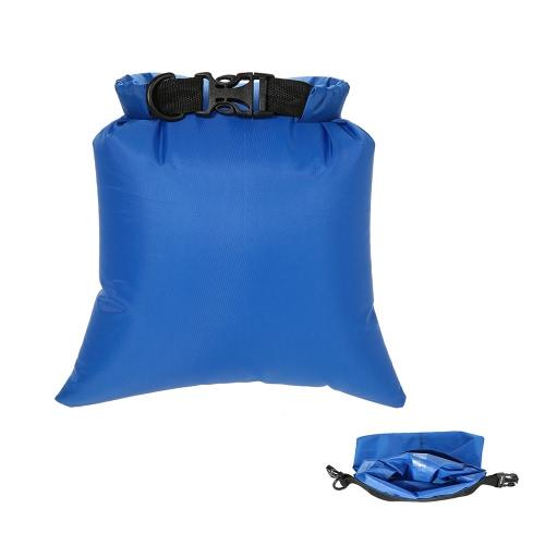 Docooler Pack de 3 a prueba de agua bolsa de 3L + 5L + 8L al aire Ultraligero en seco Sacos para Camping Viajar Senderismo