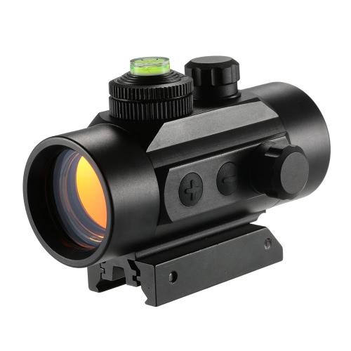 1x30mm Mini Illuminated 5MOA Rotpunktvisier Rifle im Freien taktisches Jagd-Bereich
