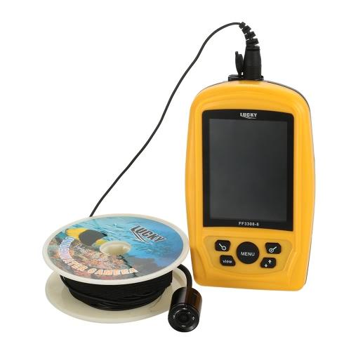 LUCKY 420TV portatile subacquea ispezione pesca fotocamera via cavo sistema CMD sensore 3,5 pollici TFT monitor RGB Pesce di mare 20M